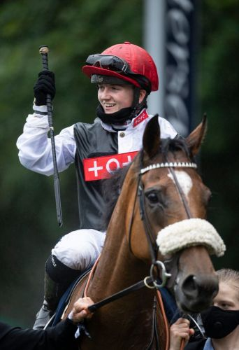 Hollie Doyle's rise continues as she triumphs on Dame Malliot in Group 2 Princess Of Wales's Stakes for Ed Vaughan