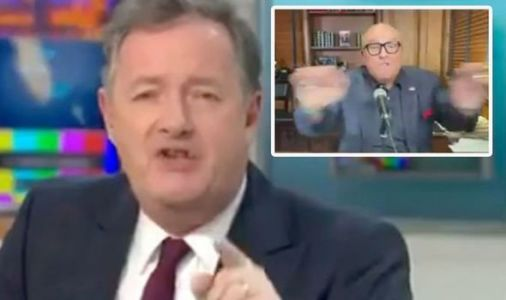 Piers Morgan 'cut off' by Rudy Giuliani after heated row on GMB: 'Interview is over'