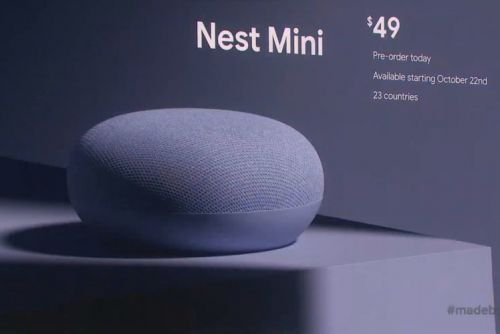 New Google Nest Mini boosts sound quality, shifts to more recycled materials