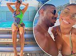 Michael B Jordan, 33, kisses Lori Harvey, 24, as they continue to flaunt their romance