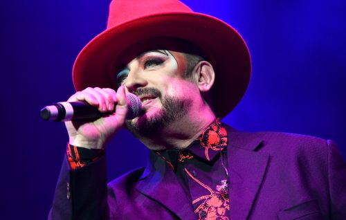 Boy George teases 'Karma Chameleon' biopic cast in a new video