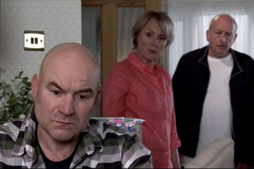Sally and Tim split for good thanks to Geoff's meddling in Coronation Street?