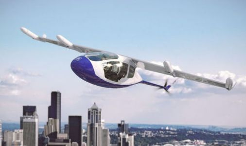 Rolls-Royce unveils FLYING taxi which could travel from London to Birmingham in 20 MINUTES
