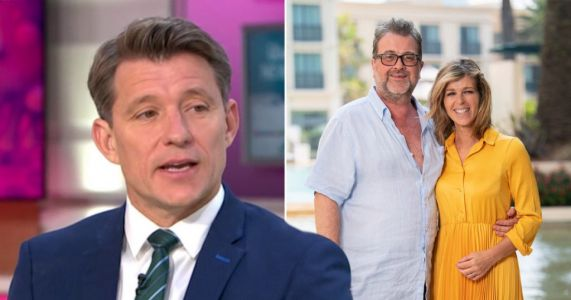 Ben Shephard heaps praise on Kate Garraway as she prepares for Christmas without husband Derek Draper