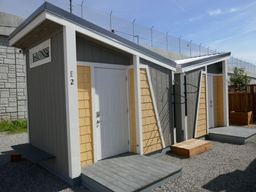 San Jose is building hundreds of tiny homes for the homeless to help protect them from the coronavirus