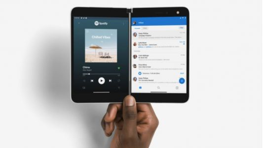 Surface Duo is Microsoft's first Android phone: foldable, dual screen, super-thin