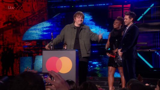Brit Awards 2020: Lewis Capaldi's first ever win suffers technical issues as speech is muted