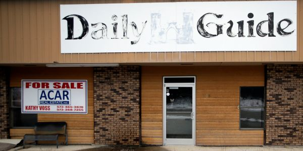 CEO of local newspaper giant GateHouse Media acknowledged 'sizeable' layoffs in memo after parent company CEO tried to downplay the cuts