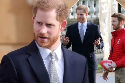 Prince Harry makes appearance at Buckingham Palace in what could be his last engagement as a 'senior' royal