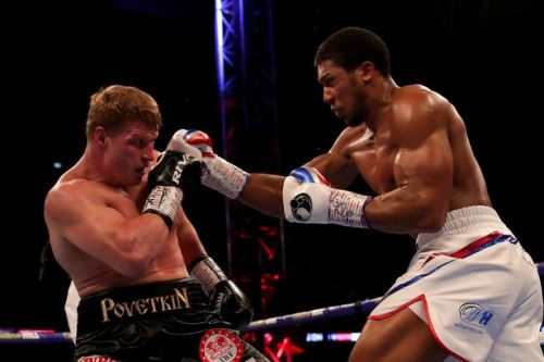 Who won Anthony Joshua vs Alexander Povetkin fight? Result from heavyweight world title fight at Wembley