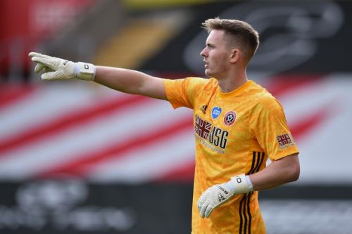 Man Utd at war with Sheffield United over Dean Henderson's wages as keeper nears new £100k-a-week Old Trafford deal