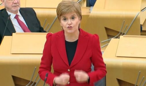 Nicola Sturgeon shamed by Ruth Davidson in fiery FMQs row with BRUTAL Putin swipe