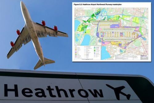 Heathrow expansion map: Airport 3rd runway plans explained in detail as MPs brace for historic vote