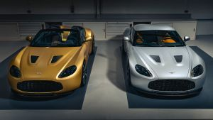 First pair of Aston Martin Vantage V12 Zagato Heritage Twins completed