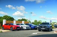 Electric SUV megatest: Mercedes EQC vs luxury rivals
