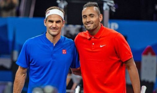 Nick Kyrgios jokes not even his own family support him against Roger Federer in Laver Cup