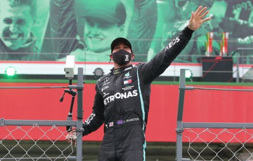 Lewis Hamilton overtakes Michael Schumacher's all-time record with win at Portuguese GP