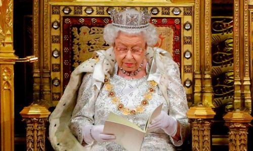 Why the Queen didn't wear the Imperial State Crown at the State Opening of Parliament