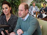 Prince William and Kate Middleton speak to a family whose 12-year-old son almost took his own life