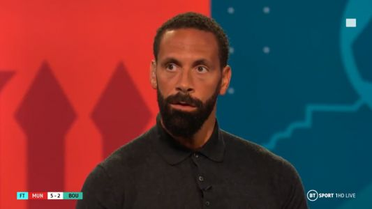 Rio Ferdinand says Manchester United need to sign three starters to challenge for the title
