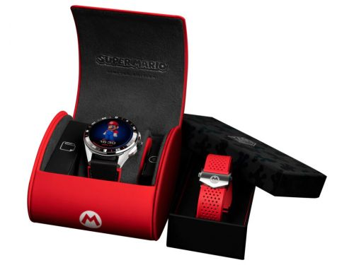 Nintendo and TAG Heuer team up for a $2,150 luxury Mario smartwatch