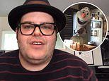 Josh Gad jokes his daughters 'wish Moana was their father' as he reveals he owns huge Olaf statue