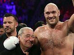 Five man shortlist to fight Tyson Fury revealed by promoter Bob Arum including unbeaten 20-0 star Agit Kabayel