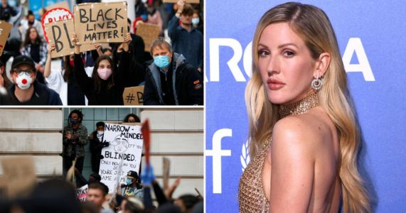 Ellie Goulding promises to be a better ally amid Black Lives Matter protests: 'I am here for you and here to fight with you'