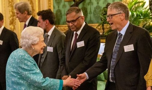 Queen welcomes Bill Gates to Windsor Castle despite Downing Street protests