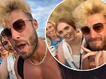 Joshua Ritchie appears to break lockdown rules AGAIN as he parties at crowded beach with pals