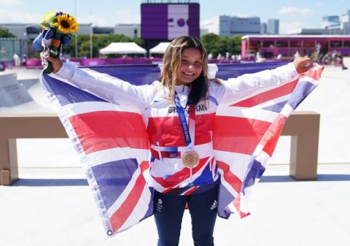 Meet Sky Brown, Team GB's Youngest Ever Olympic Medallist