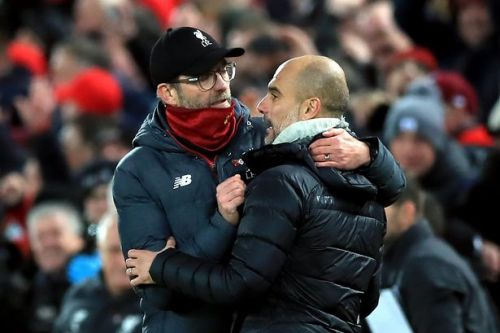 Klopp on Guardiola rivalry and admiration for all Premier League bosses