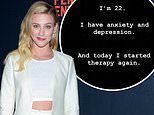 Lili Reinhart reveals she is starting therapy for depression in heartfelt statement to her fans