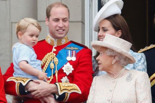 The Queen carefully mentored the future King, Prince William from childhood