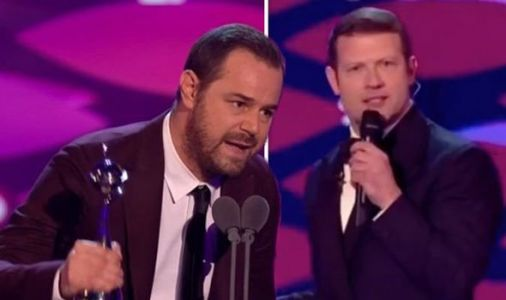 NTA 2019: Dermot O'Leary forced to apologise as Danny Dyer swears on live TV