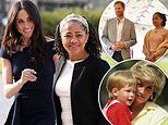 Prince Harry is relying on Meghan Markle's mother for advice and support in Princess Diana's absence
