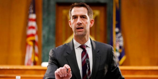 'This is about my politics': Tom Cotton says his military record was scrutinized because he's a 'conservative veteran'