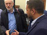 Pictured: Shamima Begum's lawyer shaking hands with Jeremy Corbyn TWO YEARS ago