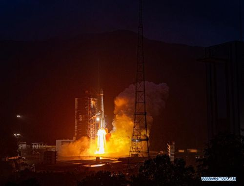 High-throughput communications satellite launched from China