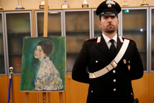 Missing Gustav Klimt painting worth £50,000,000 found in art gallery's wall