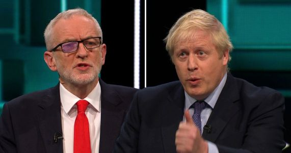 Johnson and Corbyn clash in General Election debate