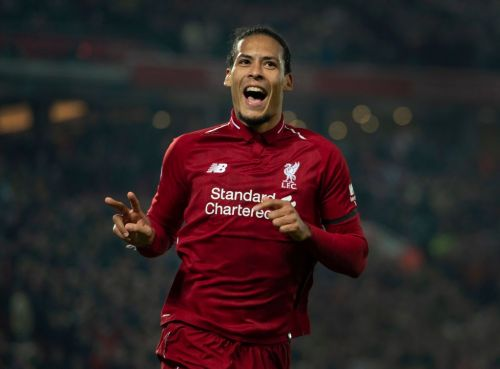 Virgil van Dijk beats Raheem Sterling to win PFA Players' Player of the Year