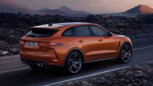 Hot Jaguar F-Pace SVR updated for 2020