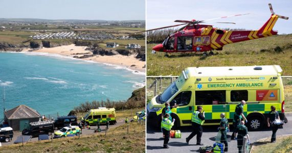 Teenage girl and man die on same stretch of Cornish coastline