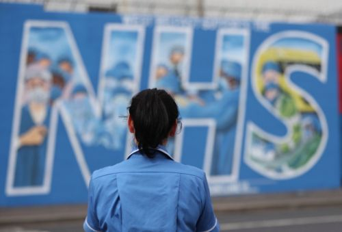 UK claps for NHS on 72nd anniversary marking toughest year on record