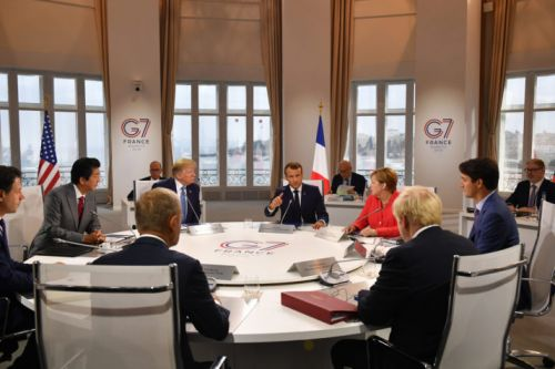 Macron's G7 descends into summit of spin