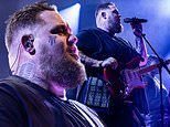 Rag'n'Bone Man cuts an edgy figure as he lights up the stage with a live performance in Bournemouth