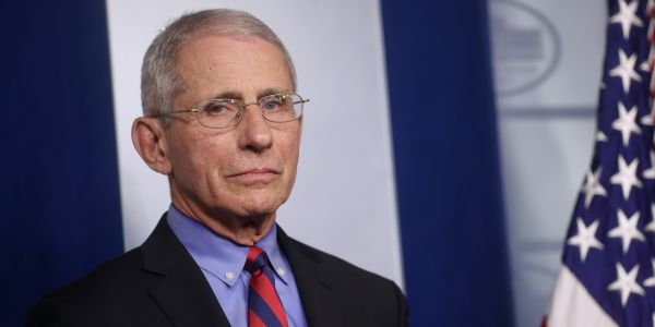Dr. Fauci dunked on Trump's intent to open the country by Easter, saying we can't 'arbitrarily' bring things back to normal