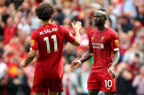 Sadio Mane plays down fall out with Liverpool teammate Mohamed Salah after Burnley tantrum