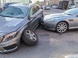 The average cost of having a car crash in the UK is £415, says report
